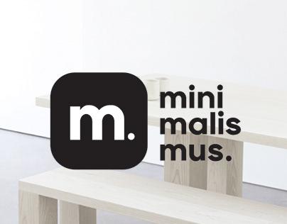 Minimalismus App Design