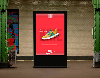 """""""Nike"""" Outdoor ads concept"""