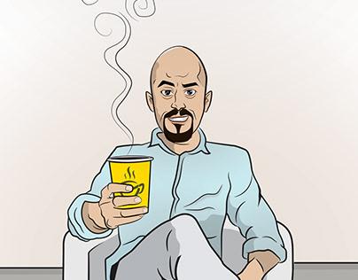 Chai Karak Illustrations