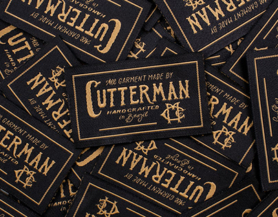 Clothing tag - Cutterman Co.