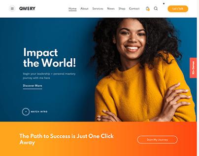 Qwery - Multi-Purpose Business WP Theme: Speaker