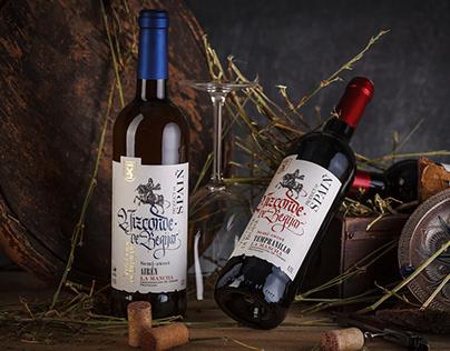 Spanish Wine Label Design - Vizconde de Begijar