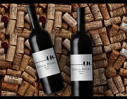 Australian Wine Label Design Finalist Entry 1