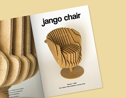 jango chair / cnc and ribs