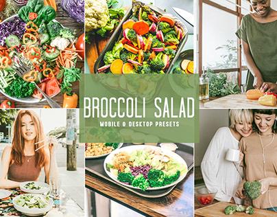 Free Broccoli Salad Mobile & Desktop Lightroom Presets