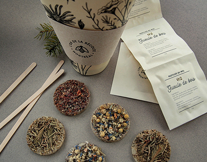 L'Or de la récolte | Branding & Herbal tea packaging