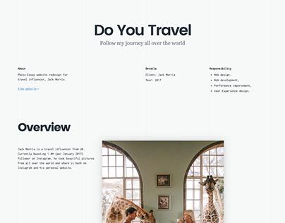 Case Study: Do You Travel