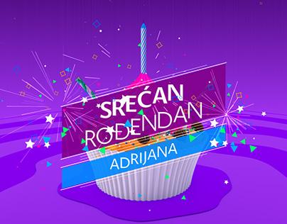 Happy Birthday, Adrijana