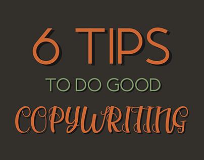 6 tips to do good COPYWRITING
