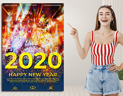 NEW YEAR POSTER 2020