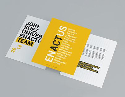 ENACTUS SUEZ UNIVERSITY CAMP.2014