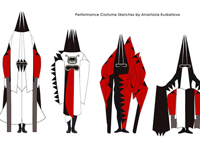 Performance Costume Sketches