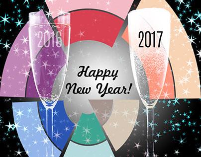 Social Media New Years Greeting