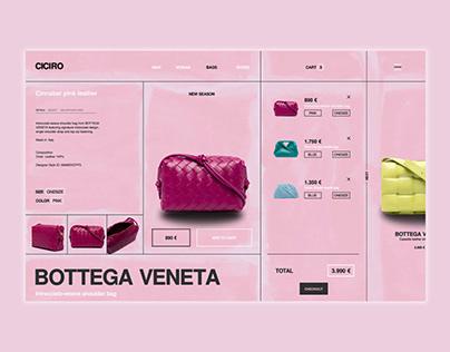 Ciciro Online Shop | Webdesign Webdevelopment