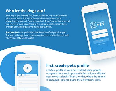 Find My Pet App