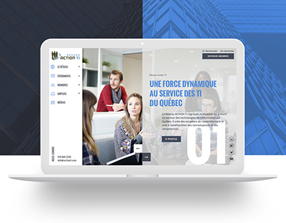 Reseau Action TI Website