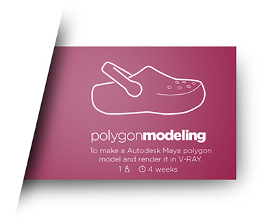 Crocs Clog Polygon Modeling