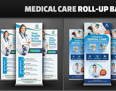 Medical/Dental Care Roll-Up Banner Bundle