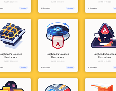 egghead.io Course Illustrations
