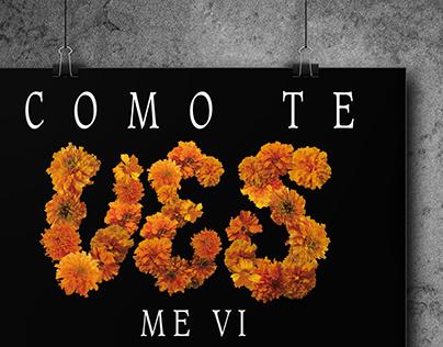 """Poster """"Day of the dead"""" (Cartel """"Día de muertos"""")"""