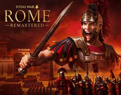 Total War Rome Remastered Key Art