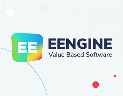 EENGINE Generative logo | Logo redesign