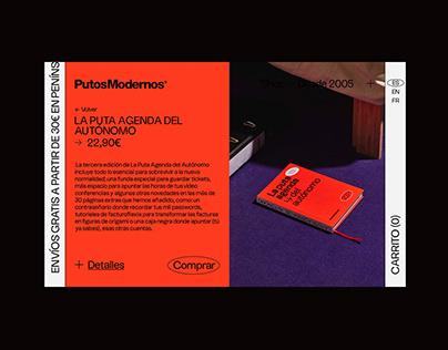 PutosModernos web design