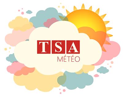 Les prévisions météo TSA