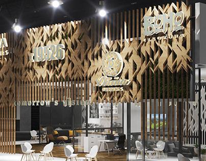 AL ASRIA Egypt-UAE - exhibition stand booth design 2020