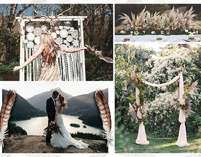 Bohemian Wedding Mood Board