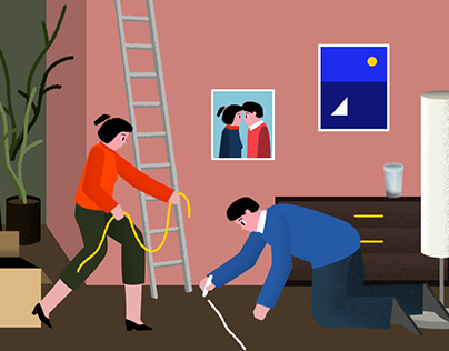 illustrations for Yandex (part 2)