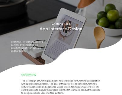 Chefling x IoT