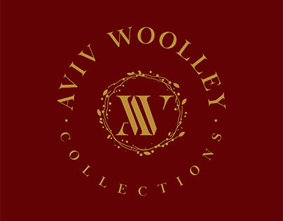 Aviv Woolley Collections. Logo design