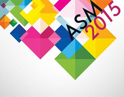 ASM2015 Event Branding