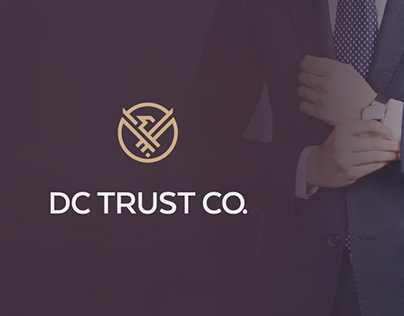 """Brand identity for """"DC Trust Co."""""""