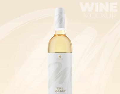 Wine Mockup – Mockup Vinho