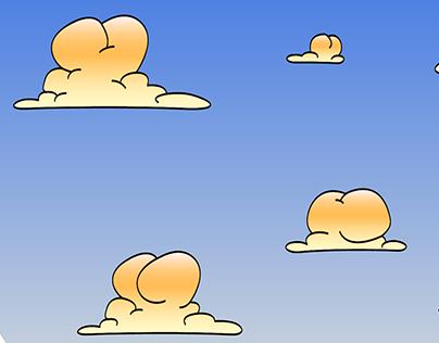 Cheeky clouds di Antonello Zuppa