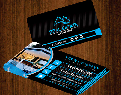 real estate business card ideas