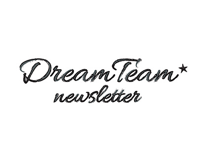 DreamTeam Newsletter Design