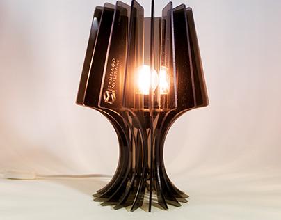 Lámpara Calera en acrílico