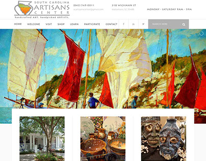 South Carolina Artisan Center Website