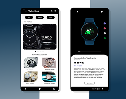 Watch Store Application