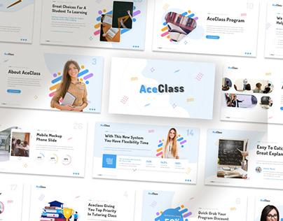 Ace Class – Education Presentation Template