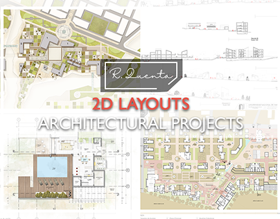 2D LAYOUTS - Architectural Projects
