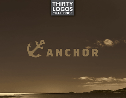 THIRTY LOGOS - DAY 10 - ANCHOR