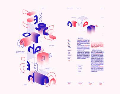 Presentación Tipográfica - Cosgaya II