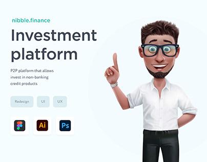 UI/UX P2P Investment platform