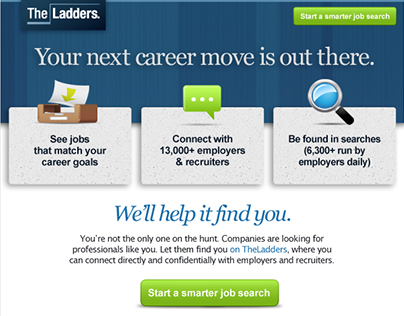 UX Copywriting, Marketing Copy B2B & B2C: Ladders