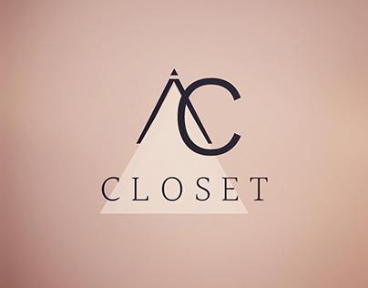 Identidade Visual Ana Carolina closet