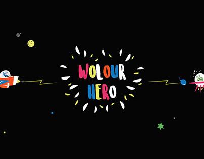 UI/UX - Wolour Hero